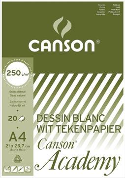 Canson Bloc de dessin Academy, ft 21 x 29,7 cm (A4)