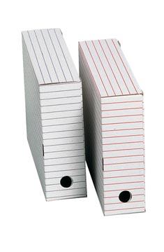 Boîte à archives, ft 31 x 24,5 x 8,5 cm (b x h x d), jeu de 2 boîtes