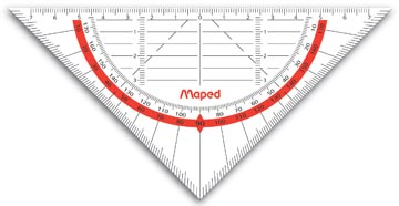 Maped geodriehoek Geo-Flex