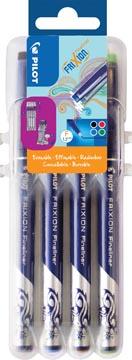Pilot fineliner Frixion Basic, geassorteerde kleuren, set van 4 stuks