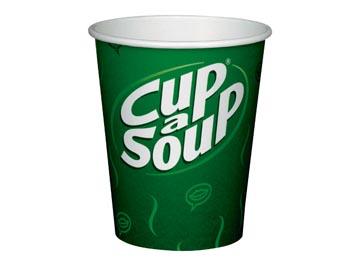 Cup-a-Soup beker uit karton 14 cl, pak van 50 stuks