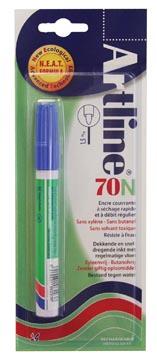 Marqueur permanent Artline 70 bleu (sous blister)