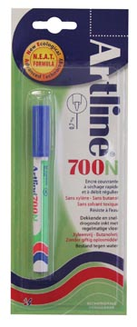 Marqueur permanent Artline 700 bleu (sous blister)