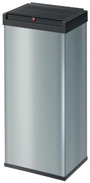 Hailo afvalbox Bigbox Swing XL, 52 liter, zilver