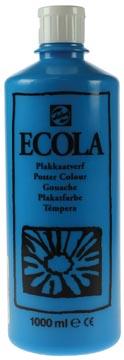 Talens Ecola gouache flacon de 1000 ml, bleu clair