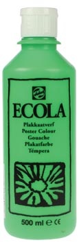 Talens Ecola gouache flacon de 500 ml, vert clair