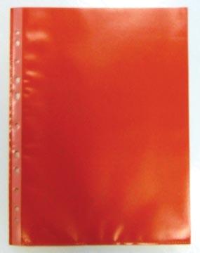 Geperforeerde showtas, rood, pak van 50