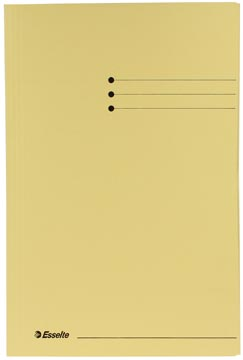 Esselte chemise de classement jaune, ft folio