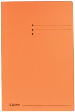 Esselte dossiermap oranje, ft folio