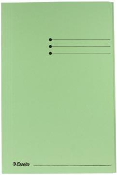 Esselte dossiermap groen, ft folio