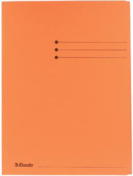 Esselte dossiermap oranje, ft A4