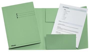 Esselte dossiermap groen, ft A4