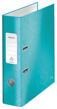 Leitz WOW ordner ijsblauw, rug van 8,5 cm