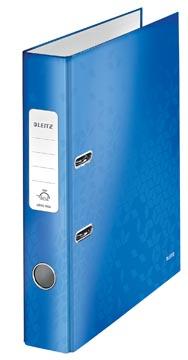 Leitz WOW classeur à levier, bleu, dos de 5,2 cm