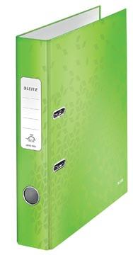 Leitz WOW ordner groen, rug van 5,2 cm