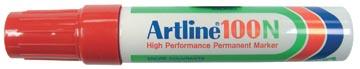 Permanent marker Artline 100 rood