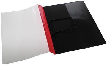 Jalema chemise à glissière Clip rouge