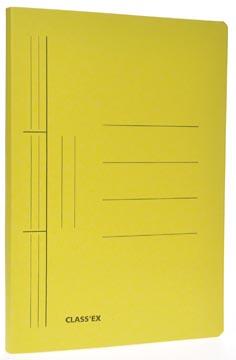 Class'ex chemise à glissière jaune, ft 25 x 34,7 cm (pour ft folio)