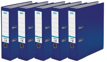 Elba classeur Smart Pro+, dos de 8 cm, paquet de 5 pièces, bleu