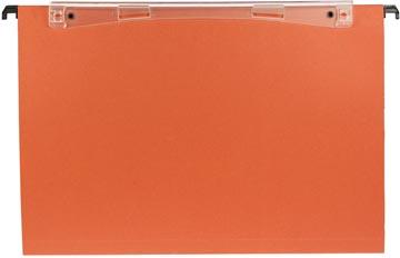 Esselte dossiers suspendus pour tiroirs Uniscope entraxe 365 mm, fond en V, avec crochets, paquet de 5...