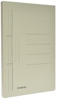 Class'ex chemise à glissière gris, ft 25 x 34,7 cm (pour ft folio)