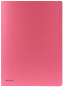 Esselte chemise de classement rose, ft folio