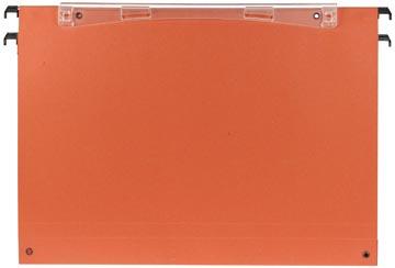 Esselte dossiers suspendus pour tiroirs Uniscope entraxe 390 mm, fond 30 mm, avec crochets, boîte de 5...