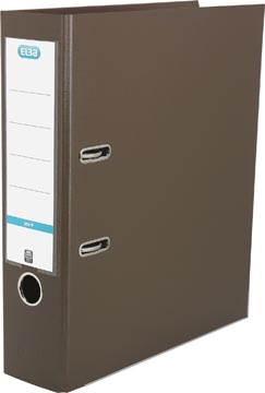 Elba classeur Smart Pro+, brun, dos de 8 cm