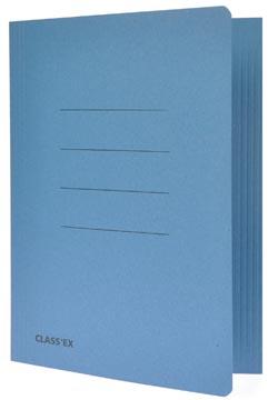 Class'ex chemise de classement bleu, ft 18,2 x 22,5 cm (pour ft cahier)