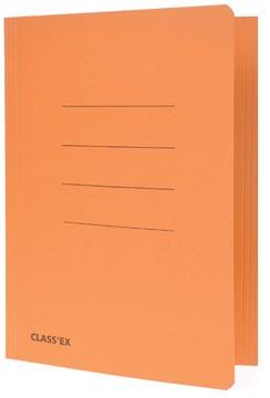 Class'ex chemise de classement orange, ft 18,2 x 22,5 cm (pour ft cahier)