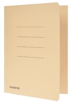 Class'ex chemise de classement chamois, ft 18,2 x 22,5 cm (pour ft cahier)