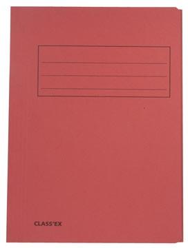 Class'ex chemise de classement, cerise, ft 23,7 x 34,7 cm (pour ft folio)