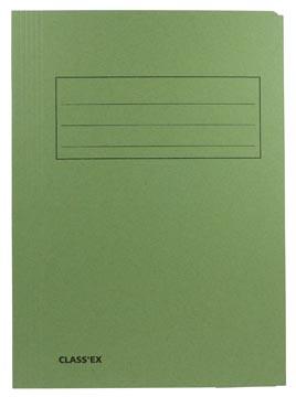 Class'ex chemise de classement, vert, ft 23,7 x 34,7 cm (pour ft folio)