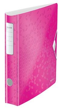 Leitz WOW ordner Active rug van 6,5 cm, roze