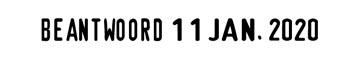 Trodat cachet à formules avec date Classic Line 1117