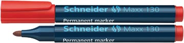 Schneider permanent marker Maxx 130 rood