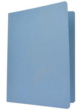 Class'ex dossiermap, ft 24 x 34,7 cm (voor ft folio), blauw
