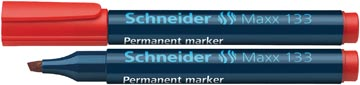 Schneider permanent marker Maxx 133 rood