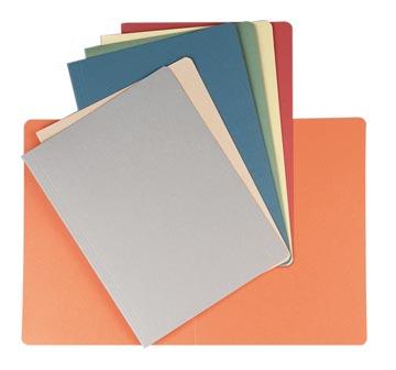 Chemise de classement couleurs assorties, ft 24 x 32 cm (pour ft A4)