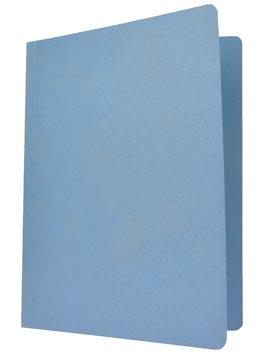 Chemise de classement bleu, ft 24 x 32 cm (pour ft A4)
