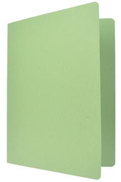 Chemise de classement vert, ft 24 x 32 cm (pour ft A4)