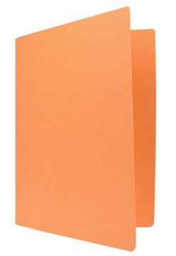 Chemise de classement orange, ft 24 x 32 cm (pour ft A4)