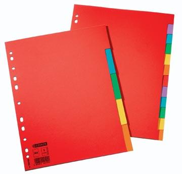 Esselte tabbladen 12 tabs, karton van 220 g/m²