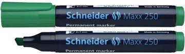Schneider permanent marker Maxx 250 groen