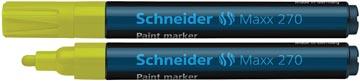 Schneider paint marker Maxx 270, geel
