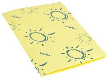 Vileda sponsdoek Wettex Soft, geel, pak van 10 stuks