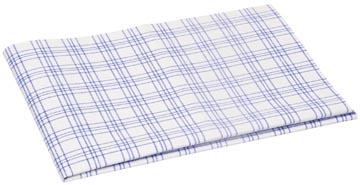 Vileda vaatdoek microvezel, wit/blauw, pak van 3 stuks