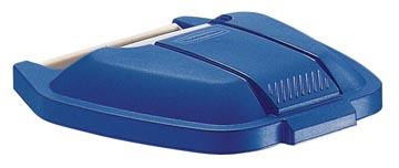 Rubbermaid deksel voor mobiele afvalcontainer Basis, blauw