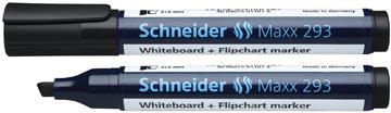 Schneider whiteboard + flipchart marker Maxx 293 zwart