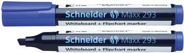 Schneider whiteboard + flipchart marker Maxx 293 blauw